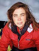 La escaladora brasileña Roberta Nunes.<br>Robertanunes.esp.br