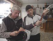 Bunny y Carles Gusi en la reunión GAME 2005, en Gavarnie.- Foto: Darío Rodríguez