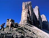 Vista de las Tres Cimas de Lavaredo, Dolomitas. - Foto: Rainer Eder