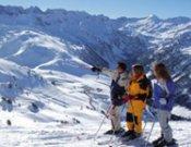 Un grupo de esquiadores en Baqueira-Beret.- Foto: baqueira.es