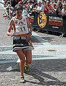 Angela Mudge, líder indiscutible en las Buff Skyrunner Series 2006.Foto: Buff SkyRunner