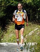 El ganador de la maratón al Mont Blanc 2006: Marco Olmo.- Foto: ultratrailmb.com
