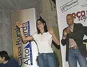 Josune Bereziartu fue galardona con el Salewa Rock Award.- Foto: rockmaster.com