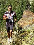 Ricardo Mejía, ganador de la quinta prueba de las Buff Skyrunner World Series 2006 en Andorra.- Foto: Xavi Llongueras
