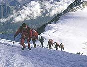 Gran cantidad de gente visita el Mont Balnc cada año.- Foto: Darío Rodríguez