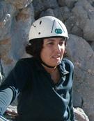 Raquel Alejandre, durante el ascenso a la cumbre del Picu.- Foto: Manuel Suárez