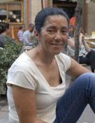 La alpinista Rosa Fernández, en la presentación de su libro- Foto: Sergio Prieto/ Desnivelpress