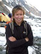 Iñaki Ochoa de Olza en el campo base del K2. ~ desnivelpress.com