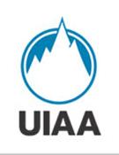 Logotipo de la UIAA, organismo internacional de deportes de montaña y, hasta ahora, escalada. - Foto: uiaa.ch