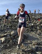 Gemma Arró, durante la disputa del tramo de running en Queralbs-Núria.<br>Foto: ociosport.net