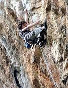Adam Ondra en Histerija, su segundo 8c+, también logrado en Misja Pec (Eslovenia). - Foto: A. Ondra/8a.nu