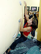Pati Blasco, habitual de esta sala madrileña y ganadora en chicas, sobre