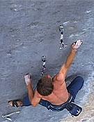 Las vías de Sharma son, para Alex, las más duras actualmente. El la foto, Chris en Realization, 9a+. Foto: climbxmedia.com