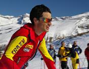Manuel Pérez, durante la prueba de Crono de Cerler 2006.- Foto: M.A.B