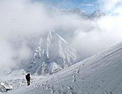 Aproximación al campo base avanzado de la actual expedición invernal polaca al Nanga Parbat. - Foto: himountain.eu