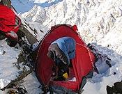 Campo 1 de la expedición invernal polaca al Nanga Parbat. - Foto: himountain.eu