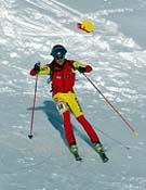 Manu Pérez, es uno de los esquiadores españoles más importantes, en la actualidad.Foto. fedme.es