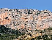 Vista de la Pared de Cataluña, en Montrebei. - Foto: desnivelpress.com