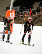 Prueba del campeonato de Esqui Alpinismo MAB realizada en Cerler.- Foto: Aramón
