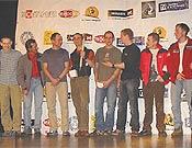 Ganadores y candidatos del Piolet d'Or 2007, entregado en Grenoble el pasado 27 de enero. - Foto: russianclimb.com