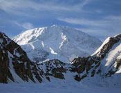 Cara Sur del McKinley desde el Campo Base de Kahiltna en Alaska.- Foto: Desnivelpress