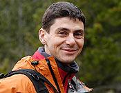 Óscar Cacho, uno de los componentes de la expedición. <br>Foto: desnivelpress.com