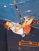 Patxi Usobiaga en la final de Avilés 2003.Foto: Archivo Desnivel.