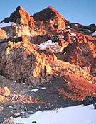 Visto del Cerro Aconcagua. - Foto: Guía Aconcagua (Ediciones Desnivel)