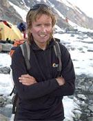 Iñaki Otxoa en el campo base del K2.- Foto: desnivelpress.com