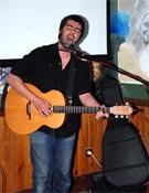 Rober Wiydn durante el concierto ofrecido en la Librería.- Foto: Jorge Jiménez