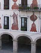 Vista de la fachada del ayuntamiento de Bera.Foto: berakoudala.net