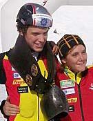 Mireia Miró acompañada de Pinsach en los últimos europeos.Foto: fedme.es