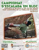 Cartel de la compe.Foto: lapobladevallbona.es