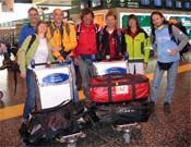 Miembros de la expedición de Sergio Della Longa, que intentaba coronar el Dhaulagiri.- Foto: mariomerelli.it