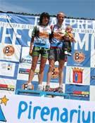 Raúl García y María Martínez se coronan campeones de España de carreras de montaña. Foto: FEDME