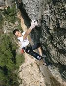 Ramón Julián se llevaba la primera de La Rambla original (9a+) en Siurana (Tarragona).- Foto: desnivelpress.com