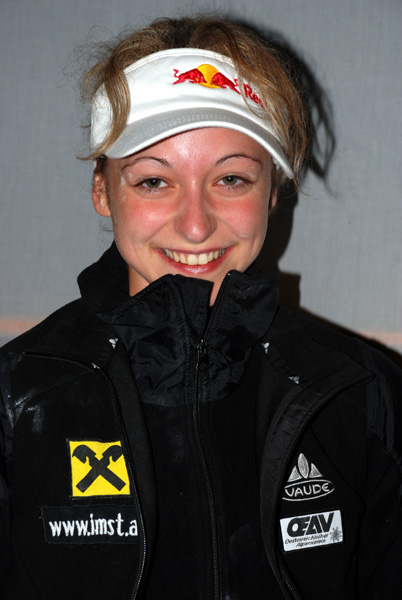 La fortísima Angela Eiter.