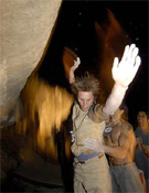Dani Andrada atento al porteo de Klemen Becan en la final nocturna del X-Tone ´07.- Foto: desnivelpress