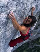 Bereziartu en la vía Yeah man (8b+)en los Alpes suizos.- Foto: desnivelpress.com