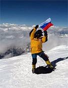 El equipo ruso, el primero en hollar la cima del K2 desde su vertiente Oeste.- Foto: russianclimb.com