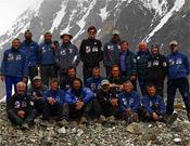 El equipo completo de la expedición rusa.- Foto: russianclimb.com