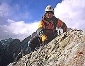 Sílvia Vidal en la cima de la pared NO del Castle Peak.- Foto: Sílvia Vidal