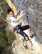 Ramón Julián en La Rambla original, 9a+ abierta por Alex Huber en Siurana.- Foto: desnivelpress.com