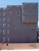 Rocódromo del polideportivo municipal de Cobisa, Toledo.
