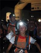 La etapa nocturna fue uno de los grandes alicientes para los raiders presentes en la prueba.- Foto: Org. Orientaventura