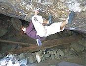 Dai Koyamada sobre el brutal desplome de Byaku-dou, 8c de bloque del japonés en Hourai.- Foto: daihold.com