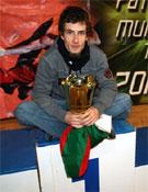 Patxi Usobiaga, doble campeón de la Copa del Mundo.- Foto: patxiusobiaga.net