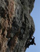 Otra toma de Patxi en La Rambla.<br>Foto: Lore Agirrezabal
