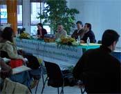 Un momento del debate organizado por RedMontañas.- Foto: RedMontañas