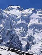 Vertiente Diamir del Nanga Parbat, desde el campo base.- Foto: carlospauner.com